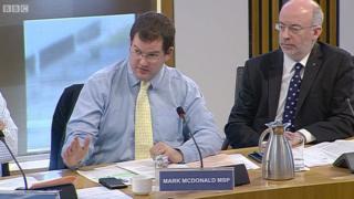 Mark McDonald at committee