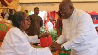 Naana Akufo ya na gaisawa da Mista Kwadwo Sarfo