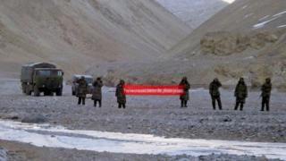 चीनी-भारत तनाव