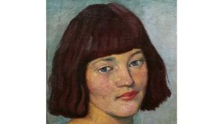 Portrait of Eileen Henry by William Strang