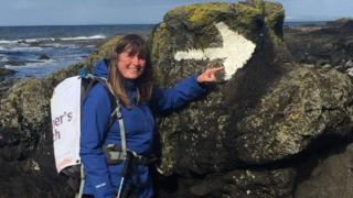 Swansea mum quarter-way through 20,000-mile coast trek