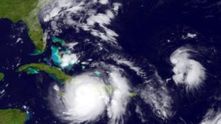 Matthew golpeó Cuba el martes tras un devastador paso por Haití.
