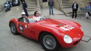 Auto Fórmula 1 en San Marino