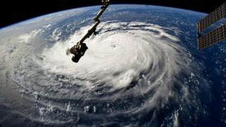 Hurricane picture from NASA