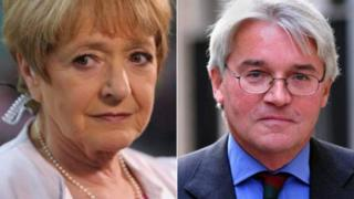 Margaret Hodge and Andrew Mitchell