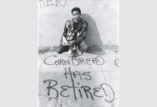 Graffiti artist CORNBREAD (aka Darryl McCray)