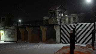 ворота колонии ИК-7 в Сегеже