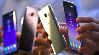 Samsung S8 phones