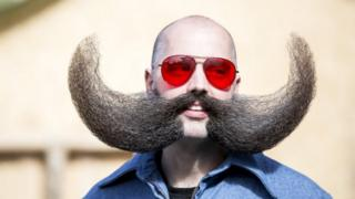 take a look at this moustache that looks like tusks