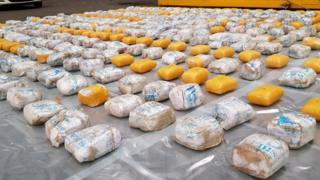 Heroin 'worth £40m' found at Felixstowe docks