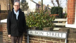 Nick on Albion Street