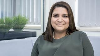 سيدة الأعمال البريطانية رومانا عابدين