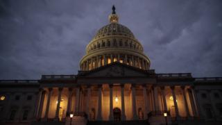 O Capitólio, em Washington, capital americana