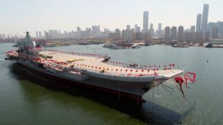 เรือบรรทุกเครื่องบินลำใหม่ของจีน