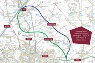 Plans for Darlington