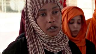 Refugee women in Libya