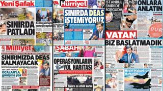 Turkish front pages combo