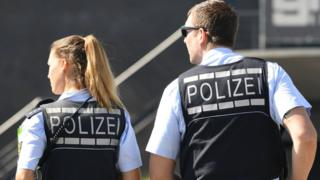 German police, file pic