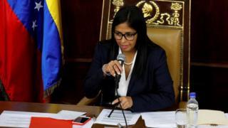 Delcy Rodríguezl
