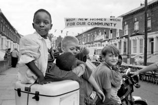 Children in the street