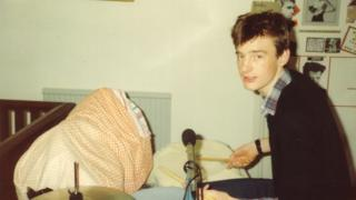 Jeremy Vine as a 15-year-old