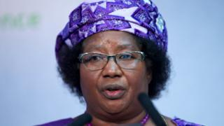 Joyce Banda, l'ancienne présidente du Malawi est rentrée d'exil samedi.