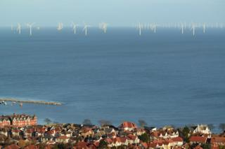 Offshore wind development off north Wales coast