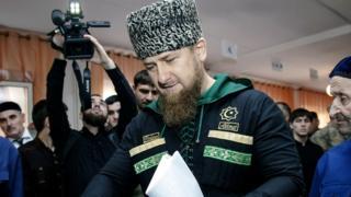 Chechnya's leader Ramzan Kadyrov (file pic 2016)