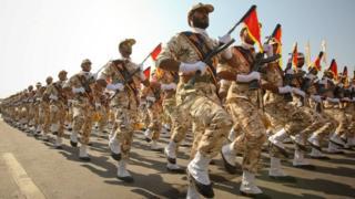 عرض عسكري للحرس الثوري في إيران