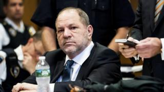 Harvey Weinstein in court eleven Oct 2018