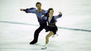 Torvill and Dean at the 1984 Winter Olympics