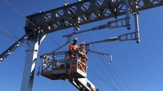 Electrification work