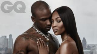 Skepta and Naomi Campbell for GQ