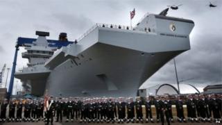 英國航母HMS伊麗莎白女王號 Queen Elizabeth