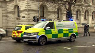 The London Ambulance Service's hazardous area response team (HART)