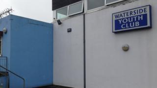 Waterside youth club