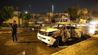 بغداد، دھماکہ