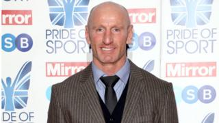 Pride of Sports Awards: Gareth Thomas in tears as parents surprise him