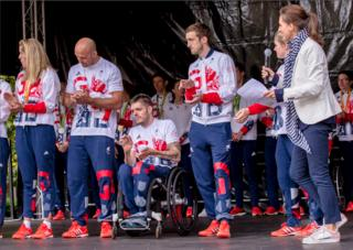 Homecoming event for Scotland's Olympians and Paralympians