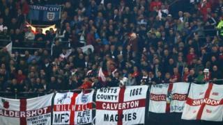 مشجعو إنجلترا
