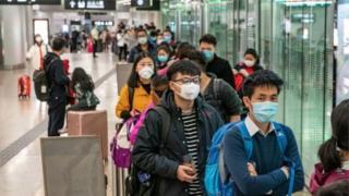 Hong Kong-da dəmiryolu stansiyası Çin
