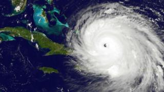 Huracán Irma.