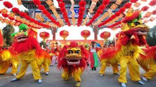 Celebrações do ano novo chinês