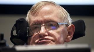 Stephen Hawking na Britain