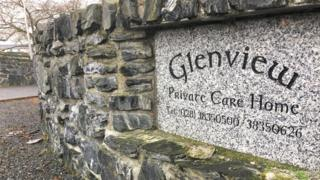 Glenview Care Home sign