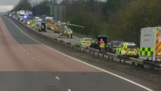 A9 fatal collision