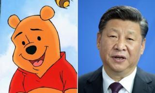 Winnie the Pooh karakteri ve Şi Jinping