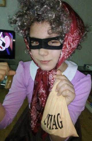 Ten-year-old Rhianna from South Shields