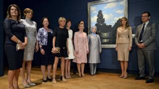 В музее Магритта в Брюсселе