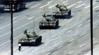 The original Tank Man shot in Beijing